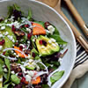 Persimmon-Pomegranate Winter Salad