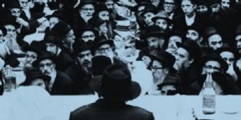 Screen/watch a Farbrengen of the Rebbe