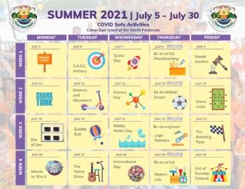 Kindergarten - 2nd Grade Calendar