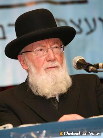 Rabbi Gedaliah Dov Schwartz (Photo courtesy of the Moscowitz Family Archive)
