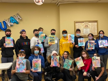 Sushi and Paint Night 2021