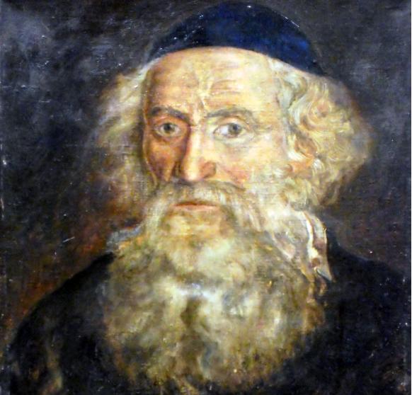 Rabbi Dr. Chaim Dovid Bernhard of Pietrekov (1770s - 1858). Credits: GFDL