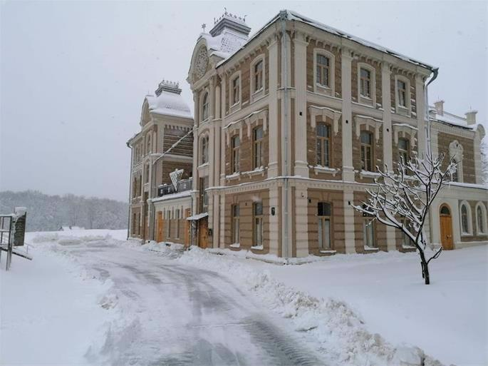 The Grodno Great Synagogue in use today (Credit: Chabad of Grodno)