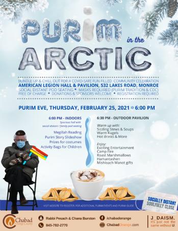 Purim in the Arctic