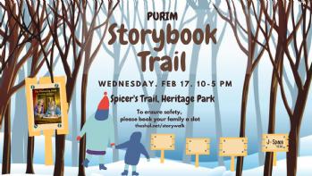 Purim Storywalk