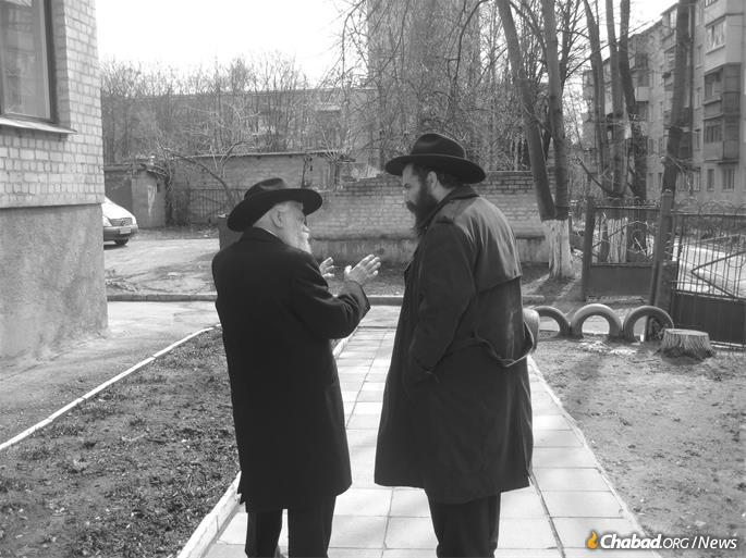 Garelik's magnetic personality, glimmering eyes and genuinely kind soul drew people to him. (Credit: Jewish Community of Kharkov)