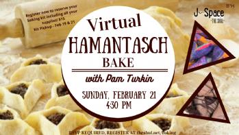 Virtual Hamantaschen Bake