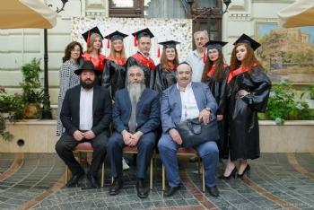 Выпускной в еврейском университете