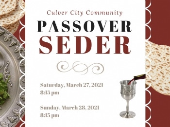 Passover In Culver City