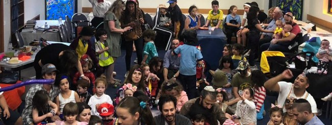 February 2021: It's a Covid-Free Purim in the Land Down Under