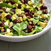Baby Spinach with Beets, Avocado, and Crunchy Bits