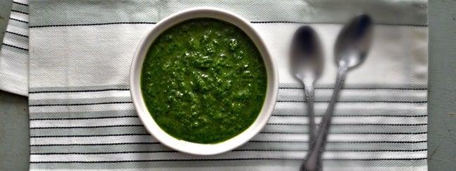 Recipe: How to Make Sparlic (Parsley-Garlic Sauce)