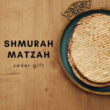 Shmurah Matzah Gift Request