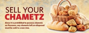 Sell your Chometz online