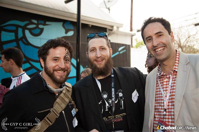 Tech Tribe's Purim Party with Chabad Young Professionals Austin at SXSW in 2017