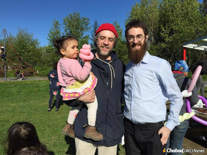 From Jewish community outings to regular Torah classes, Shabbat services and womens' events, the Feldmans have brought the gamut of Jewish community programming to Iceland.