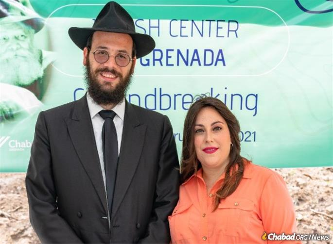 In the last seven years Rabbi Boruch and Chaya Rozmarin have created a Jewish home away from home for Jewish students, faculty, tourists and residents.