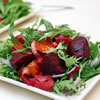 Roasted Beet Salad with Greens