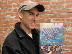 Pre-Passover Zoom with Master Cartoonist Jordan B. Gorfinkel