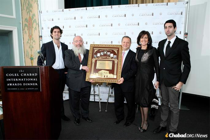 Gurevitch enriched the lifes of all who knew him. (Photo: Colel Chabad)