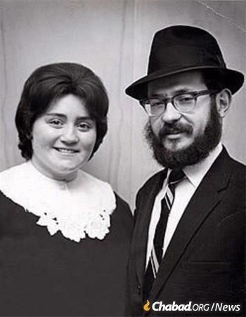 Rabbi Moshe and Mrs. Mindelle Feller
