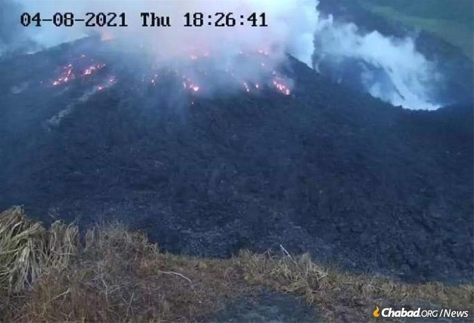 """Authorities warn that the eruption is """"likely to continue for days and possibly weeks."""""""