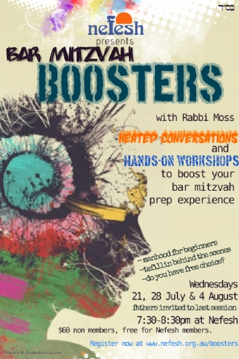 Bar Mitzvah Boosters Course