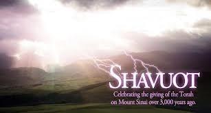 Shavuot May 16-18 2021