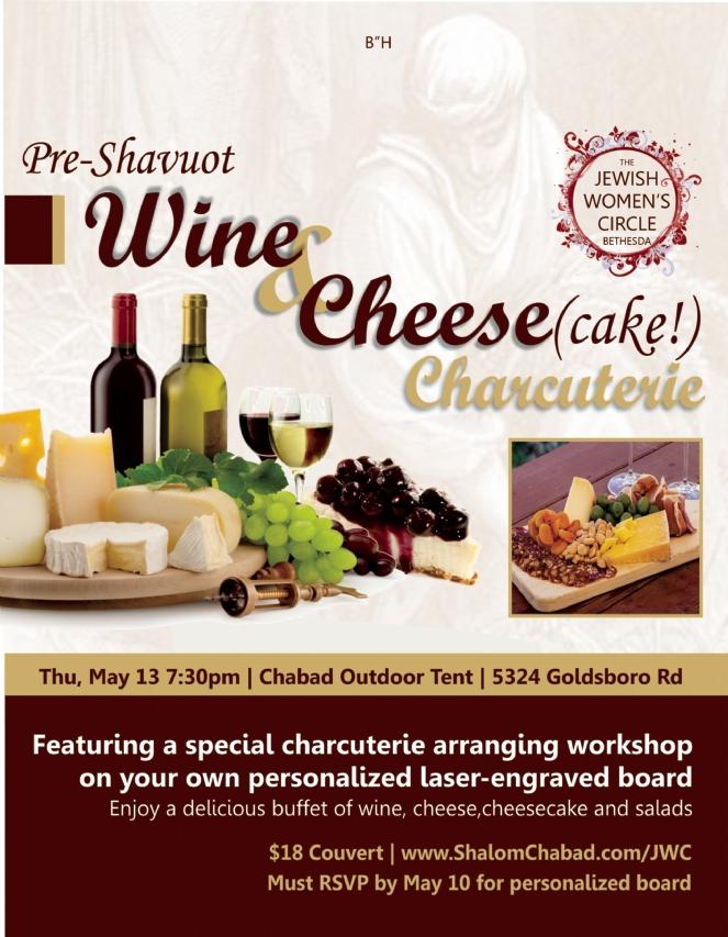 Pic: Wine &Cheese(cake)