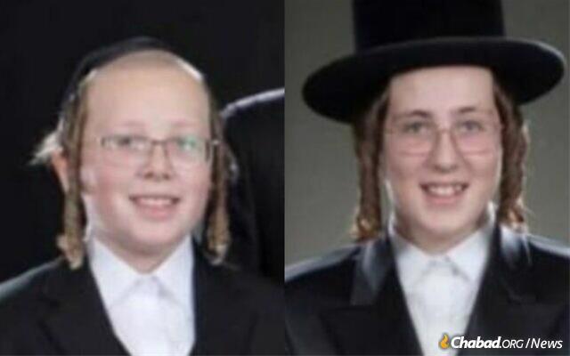 Yehoshua Engrald and Moshe Natan Engrald