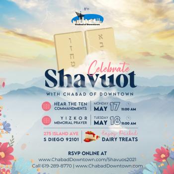 Shavuos 2021