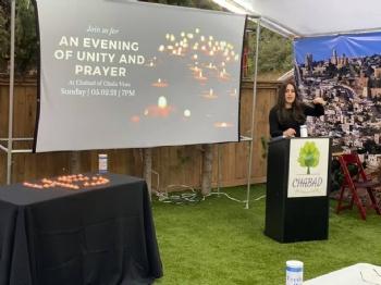 An evening of Unity & Prayer 21