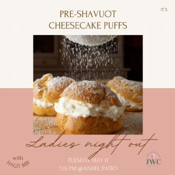 Pre-Shavuot Cheesecake