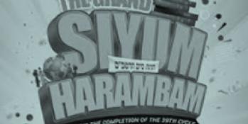 The Grand Siyum HaRambam (for kids)