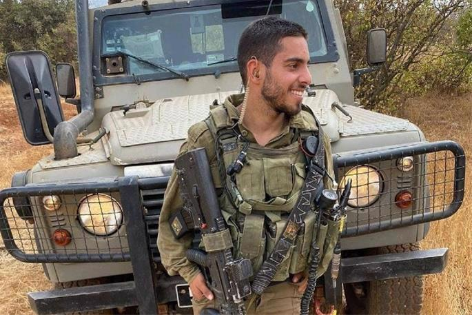 Staff Sgt. Omer Tabib, 21, was killed by an anti-tank guided missile that hit his jeep near the Gaza border.
