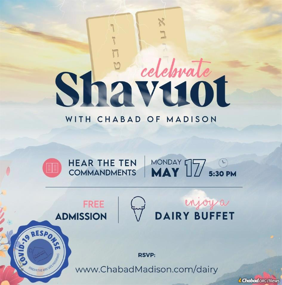 Families in Madison, Wis., are ready for Shavuot.