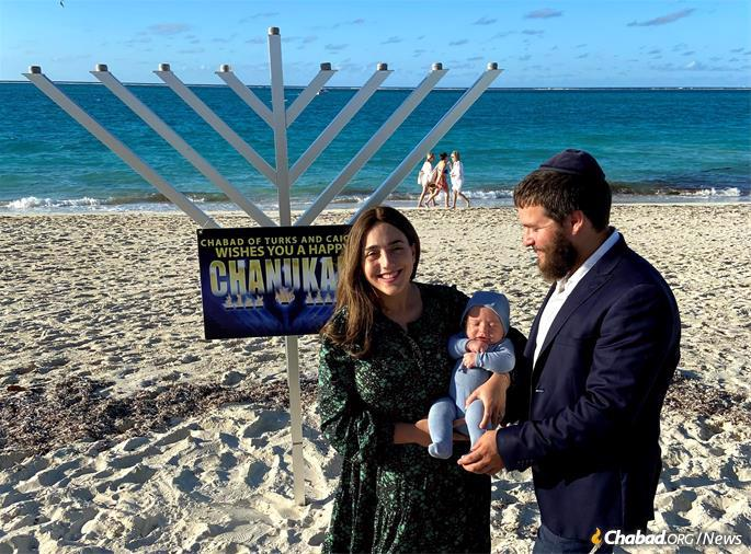 Chaya and Shmulik Berkowitz are both from families that have served as Chabad-Lubavitch emissaries for generations.