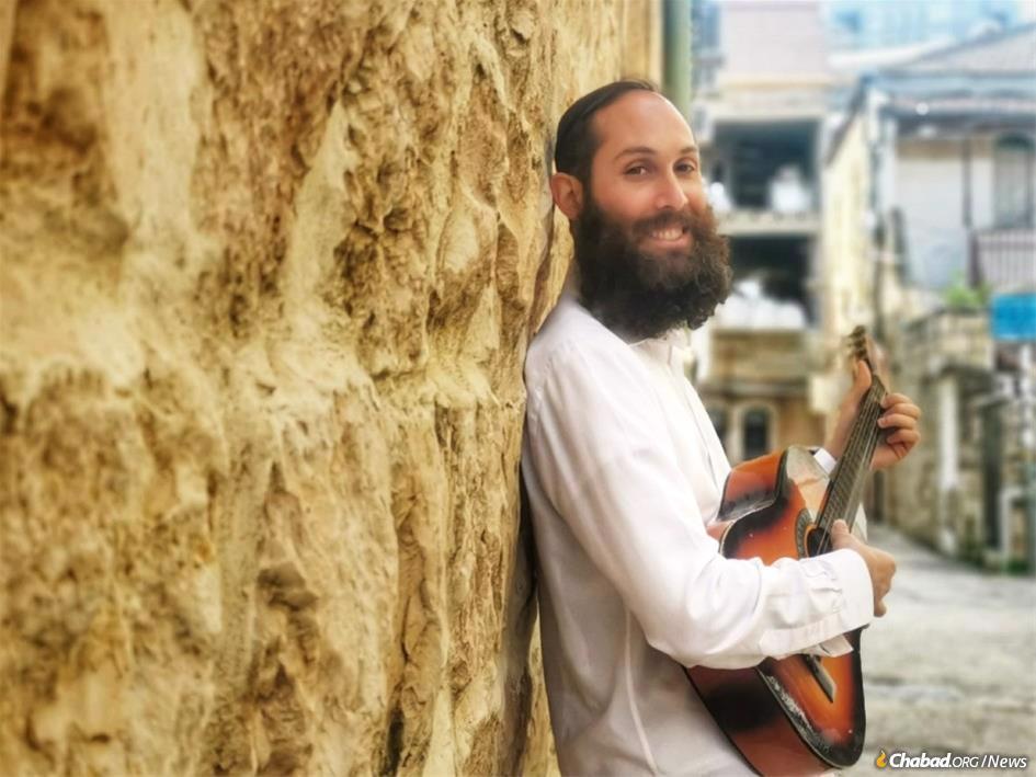 Michael Hurwitz, Ph.D, at Mayanot in Jerusalem (photo: Hayim Ashkenazi)