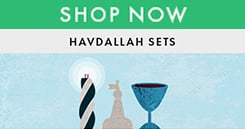 Shop Now for Havdalah Sets