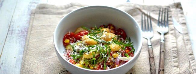 Vegetarian: Sheet-Pan Gnocchi with Summer Veg