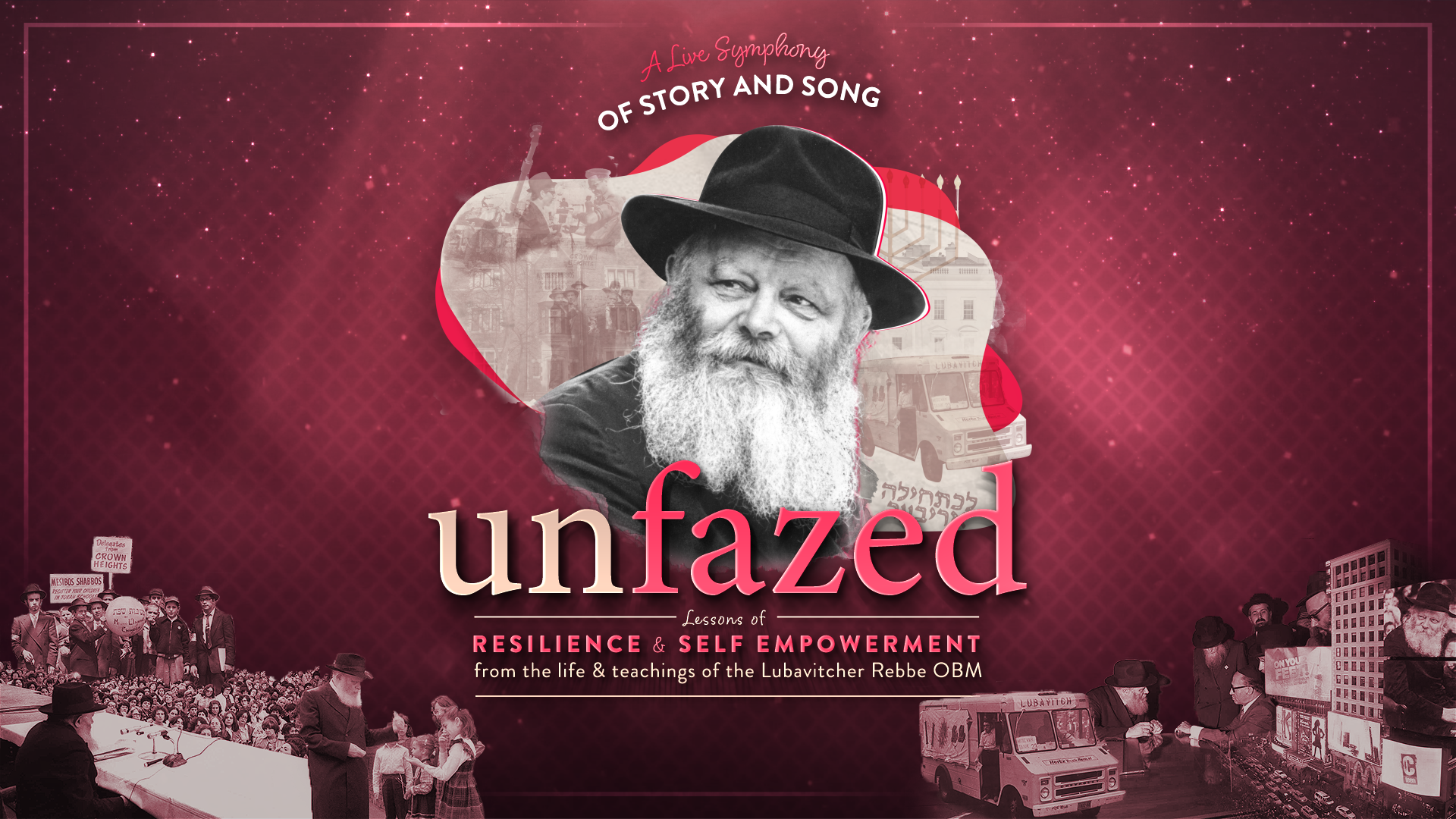 Unfazed - A Symphony of Living Voices, Story & Song