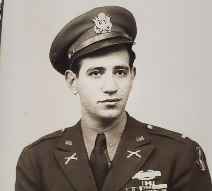 Japanese Americans were not permitted to be officers; the leader of one of their units was David Novack, a young first lieutenant with the 100th Infantry Battalion.