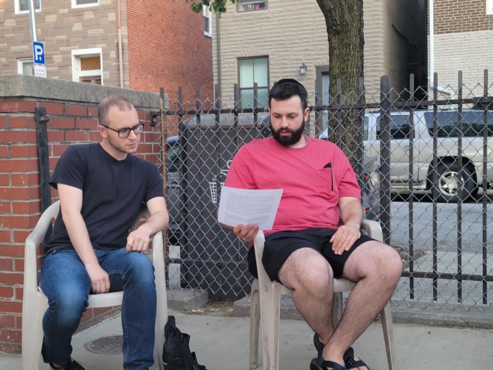 YJP Outdoor Torah Tuesday
