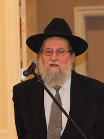 Tzvi Elimelech Eckstein (Photo: The Yeshiva World)