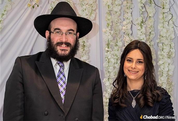 Rabbi Mendel and Chava Mushka Dubov