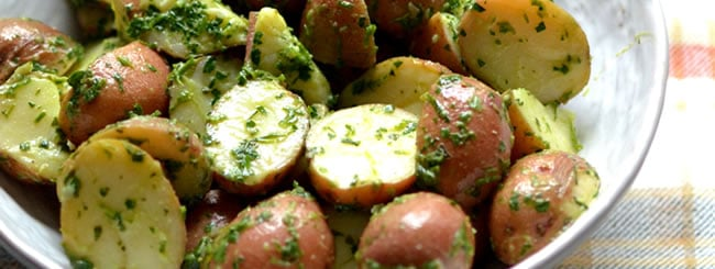 Herbed Potato Salad (Mayo-Free)