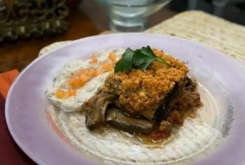 Community Moussaka & Torah
