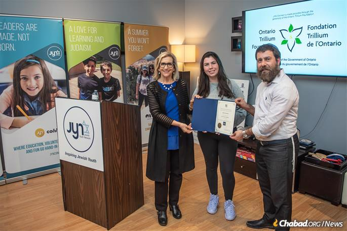 The JYN Academy, a set of high school accredited courses recognized by the ministry of education in Ontario, allows students to explore their Jewish heritage, no questions barred.