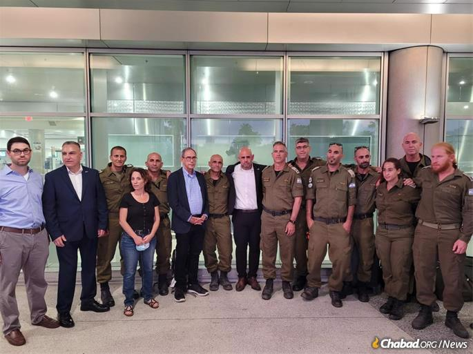 A team of IDF search and rescue specialists arrived from Israel on Sunday to help in the effort.