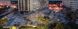 At Least One Dead, 51 Missing, as Condominium Collapses in Surfside, Fla.